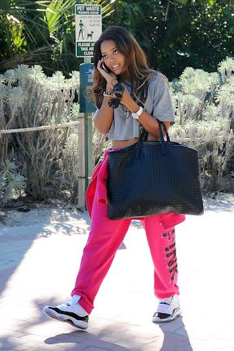 Female Jordans Celebrities Wearing